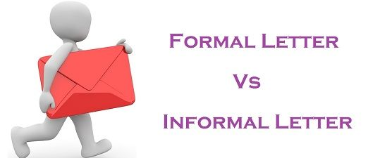 Difference Between Formal And Informal Letter With Comparison Chart