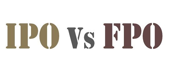ipo vs fpo Unlike the ipo where face value is rs 100 per share, listed  plans to float 132  million units and 659,565 units of shares, respectively, via fpo.