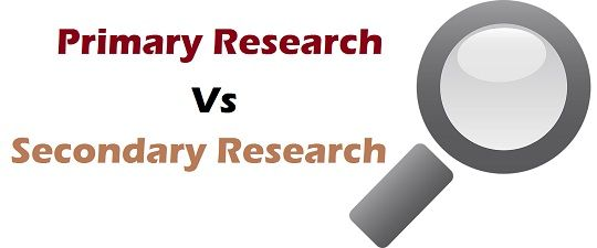 Difference Between Primary and Secondary Research (with