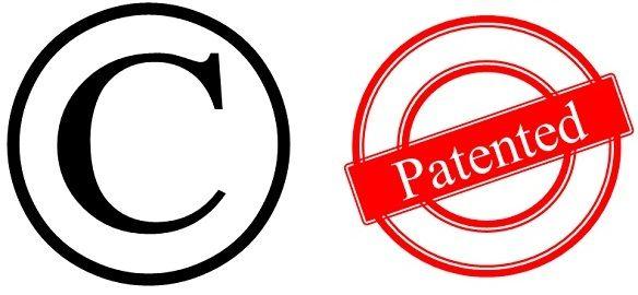 copyrght vs patent