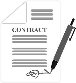 distinguish between void and illegal contracts