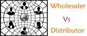 wholesaler vs distributor
