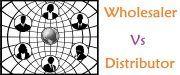 wholesaler vs distributor