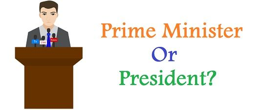 Difference Between Prime Minister and President (with Comparison ...