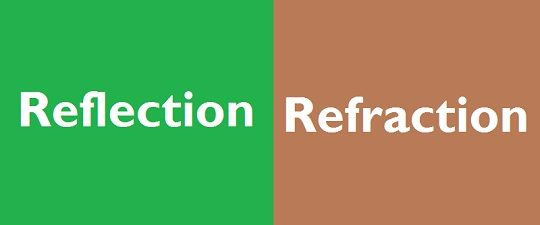 Difference Between Reflection And Refraction With