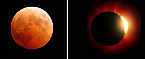 solar vs lunar eclipse