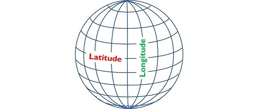 difference between latitude and longitude with comparison chart