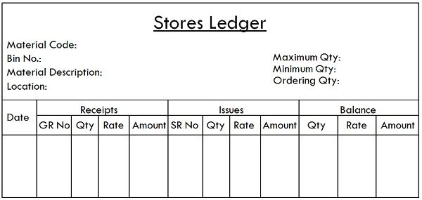 Difference Between Bin Card and Stores Ledger (with