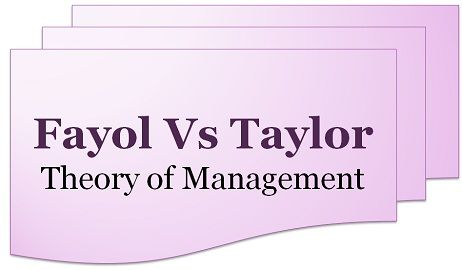 taylors and fayols principles of management Theorist henri fayol published 14 principles of management in 1914 and also introduced 6 primary functions of management, which complement the principles.