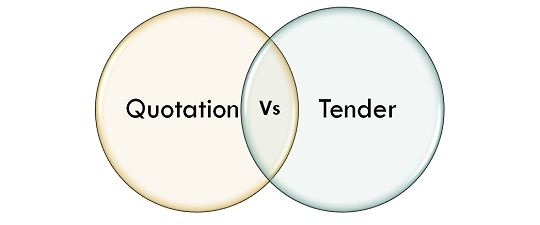 Difference between quotation and tender with comparison chart difference between quotation and tender with comparison chart key differences stopboris Gallery