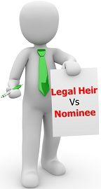 nominee vs legal heir