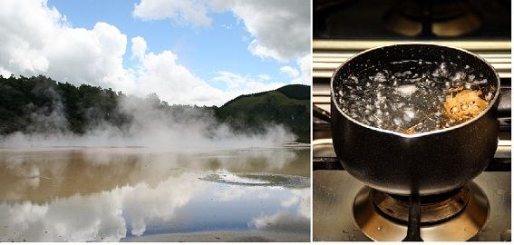boiling vs evaporation