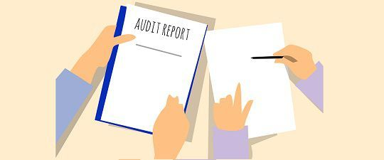 difference  audit  review  comparison chart key differences