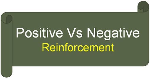 Difference Between Positive and Negative Reinforcement (with ...
