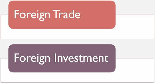 foreign trade vs foreign investment