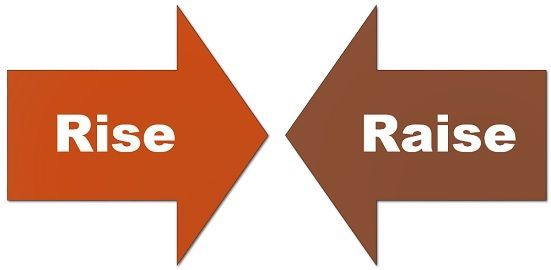 difference between rise and raise with examples and comparison chart key differences difference between rise and raise with