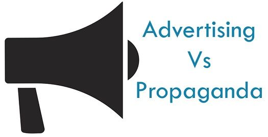 advertising vs propaganda