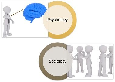 psychology vs sociology