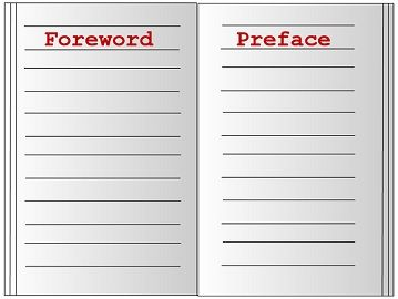 foreword vs preface