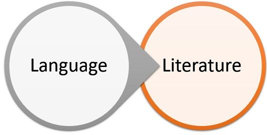 literature vs language