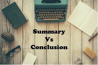 summary-vs-conclusion