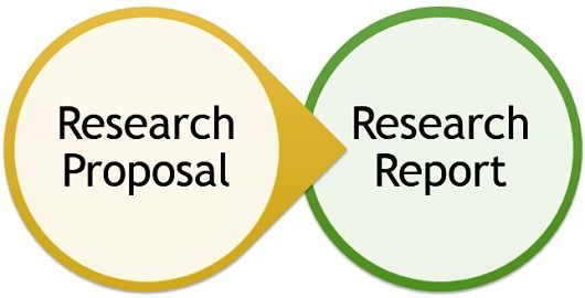 research-proposal-vs-research-report