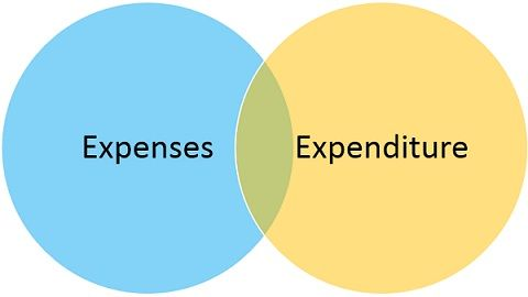 expenses-vs-expenditure